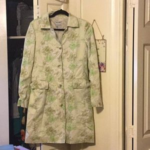 Adorable Lined Trench Coat